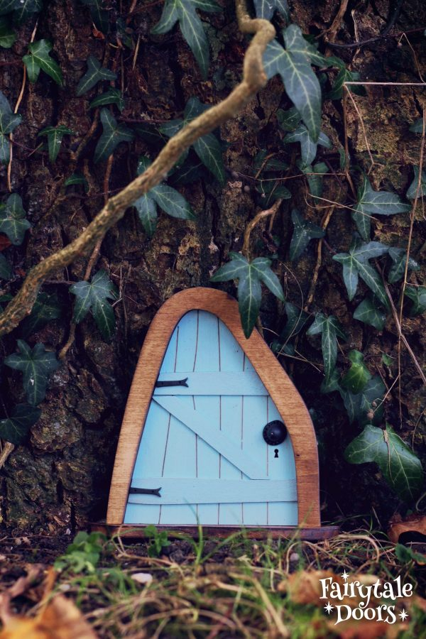 Fairytale Doors - Fairy door Iris Blue