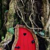 Fairytale Doors - Fairy door Nanda Red